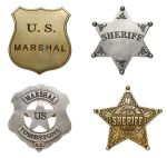 Classic Western Badges Set A